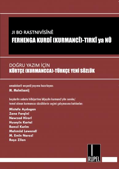 Ji Bo Rastnivîsînê Ferhenga Kurdî-Tirkî NEU