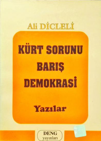 KÜRT SORUNU BARIŞ DEMOKRASİ